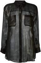 Equipment Kate Moss for striped shirt
