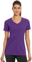 Champion Short Sleeve V Neck T-Shirt-Womens