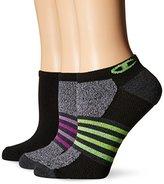 Champion Women's No Show Training Socks -Heather (Pack of 3)