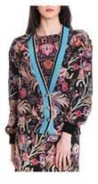 Etro Women's Multicolor Silk Cardigan.