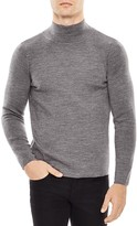 Sandro High Collar Slim Fit Sweater