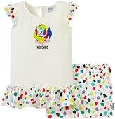 Moschino T-shirt and Shorts Set (Baby) - White - 3/6 Months