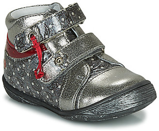 GBB NICOLINE girls's Mid Boots in Silver