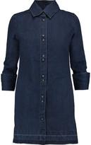 J Brand Bacall Denim Mini Shirt Dress