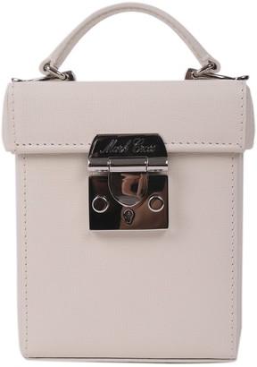 Mark Cross White Grace Cube Mini Bag