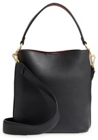 Sam Edelman Small Nya Faux Leather Bucket Bag - Black