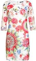 Quiz *Quiz Multi Colour Lace Print Shift Dress