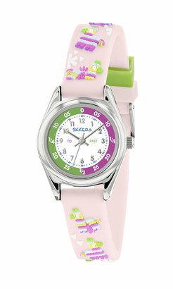 Tikkers Unisex Child Analogue Classic Quartz Watch with Silicone Strap TK0184