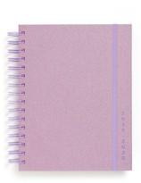 ban.do Lilac Glitter Medium Planner