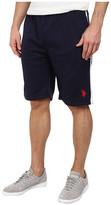 U.S. Polo Assn. Fleece Shorts with Side Stripe