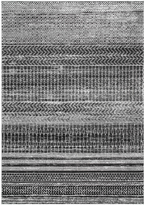 nuLoom Dark Gray Stripe Nova Rug