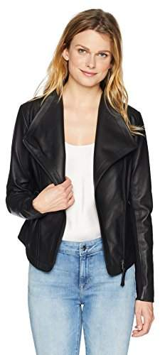Mackage Women's Pina-L Fitted Sleek Leather Jacket