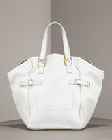 Downtown Leather Tote