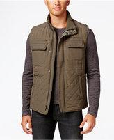 Vince Camuto Men's Quilted Zip-Front Vest