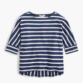 J.Crew Girls' mixed-stripe shirt