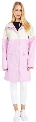 Ilse Jacobsen Five-Tone Slicker (Frosting/Cream) Women's Coat