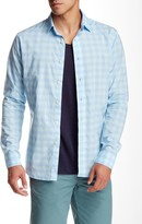 Slate & Stone Plaid Trim Fit Shirt