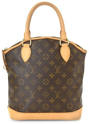 Vintage Louis Vuitton Vintage Lockit PM Monogram Canvas Top Handle Bag