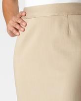 Coldwater Creek Khaki denim pencil skirt