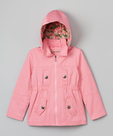 Urban Republic Pink Lemonade Camo Zip-Up Coat - Toddler & Girls