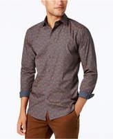 Tallia Men's Slim-Fit Floral-Print Dress Shirt