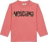 Moschino Logo cotton-blend T-shirt 3-36 months