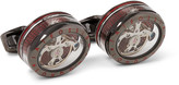 Tateossian - Panorama Tourbillon Rhodium-plated Cufflinks