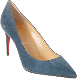 Christian Louboutin Kate 85 Suede Pump