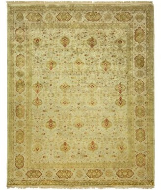 Bose Meridian Rugmakers Hand-Knotted Wool Brown Area Rug Meridian Rugmakers Rug Size: 6' x 9'