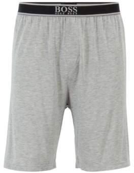 9296f66ac BOSS Stretch-modal pyjama shorts with exposed waistband
