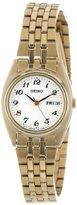 Seiko Women's SXA126 Functional Gold-Tone Stainless Steel Watch