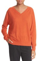 Vince Women's Relaxed Cashmere V-Neck Sweater