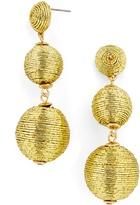 BaubleBar Metallic Crispin Drops-Gold