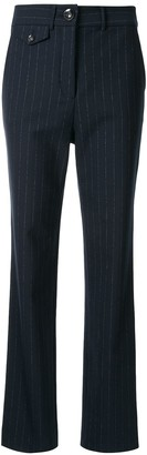 Roxy pinstriped trousers