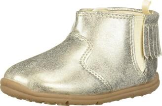 Carter's Every Step Girls' Infant 1st Walker Evvie Fringe Fashion Boot Ankle