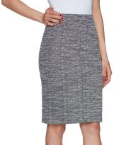 Elle Women's ELLETM Tweed Pencil Skirt