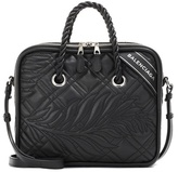 Balenciaga Blanket Square S leather tote
