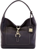 Dooney & Bourke Pebble Grain Leather Medium Annalisa Lock Sac