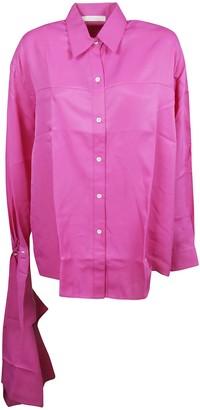 Peter Do Scarf Cuff Shirt
