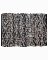"""Thumbnail for your product : Home Weavers Parker Denim 24"""" x 36"""" Accent Rug Bedding"""