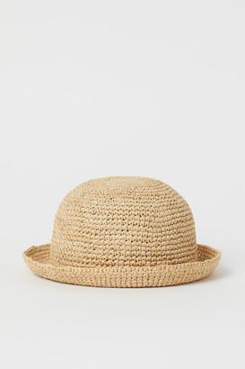 H&M Round straw hat