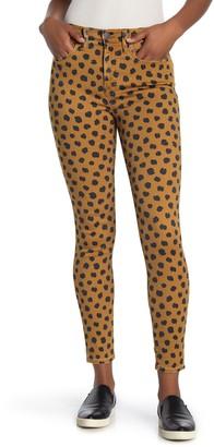 Madewell High Rise Printed Skinny Jeans