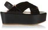 Chrissie Morris Jupiter crossover suede sandals