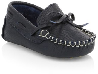 Elephantito Baby Boy's Leather Driving Loafers