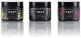 NEST Fragrances Luxury Body Cream 3-Piece Travel Set - Midnight Fleur, Indigo, Dahlia & Vines