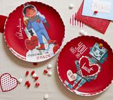 Pottery Barn Kids Boy Valentine's Day Plates