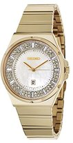 Seiko Women's SXDG14 Matrix Analog Display Japanese Quartz Gold Watch