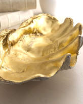Horchow Golden Shell Bowl