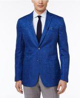 Tallia Men's Big & Tall Slim-Fit Tonal Geo Sport Coat