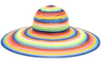 Eugenia Kim Bunny Rainbow Stripe Floppy Hat